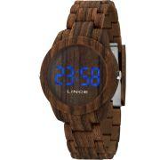 Relógio Lince LED Digital Unissex MDP4616P DXNX - LED Azul