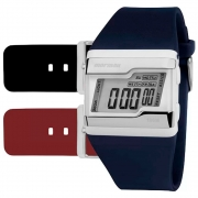 Relógio Mormaii Kit Troca Pulseiras Acquarela FZ/T8N