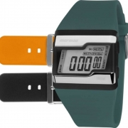Relógio Mormaii Kit Troca Pulseiras Acquarela FZU/8L