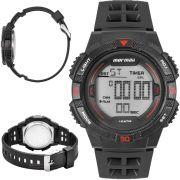 Relógio Mormaii Masculino Digital Wave MO9100AB/8R