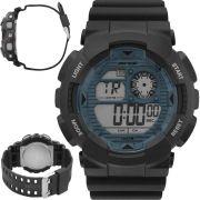 Relógio Mormaii Masculino Wave Digital MO3415D/8A