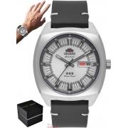 Relógio Orient Masculino Automático 3 Stars F49SC011 S1PB Couro