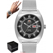 Relógio Orient Masculino Automático 3 Stars F49SS011 P1SX Aço