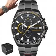 Relógio Orient Masculino Cronografo MYSSC007 G1GX - Grafite