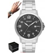 Relógio Orient Masculino MBSS1373 G2SX Analógico Prateado