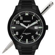 Relógio Orient Masculino MPSS1020 P2PX Analógico - Aço Preto
