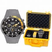 Relógio Orient Seatech Solar Scuba Diver Titanium MBTTC014 P1GX