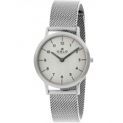 Relógio Oslo Feminino Slim Safira Prateado OFBSSS9T0003 G2SX