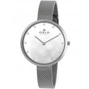 Relógio Oslo Feminino Slim Safira Prateado OFBSSS9T0013 B1SX