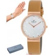 Relógio Oslo Feminino Slim Safira Rose OFRSCS9T0003 S1TX