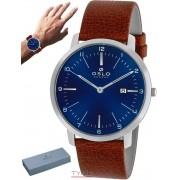 Relógio Oslo Masculino Slim Safira OMBSCS9U0006 D2NX