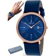 Relógio Oslo Masculino Slim Safira OMRSCS9U0001 D1DX