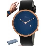 Relógio Oslo Masculino Slim Safira OMRSCS9U0007 D1PX Couro