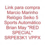 Relógio Seiko 5 Sports Automático Cliente Marcio Marinho