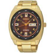 Relógio Seiko Automático Masculino Dourado SNKM98B1 M1KX