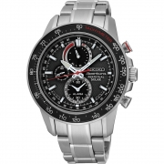 Relógio Seiko Masculino Sportura Solar Perpetual SSC357P1 G1SX