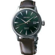 Relógio Seiko Presage Coquetel Mockingbird Automático Masculino SRPD37J1 E1PX Made in Japan