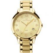 Relógio Technos Feminino Dress 2315ACM/4X Dourado