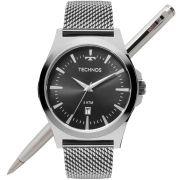 Relógio Technos Masculino Classic Steel 2115LAL/0P