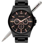 Relógio Technos Masculino Classic Steel 6P29AJL/4P