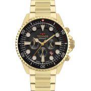 Relógio Technos Masculino Skymaster JS25CD/4C Cronógrafo Dourado