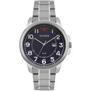 Relógio Technos Masculino Steel 2115MOZ/1A Prateado