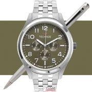Relógio Technos Masculino Steel 6P29AKJ/1V Multifunção