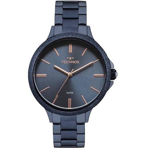 Relógio Technos Feminino Fashion Trend Azul 2035MME/4A