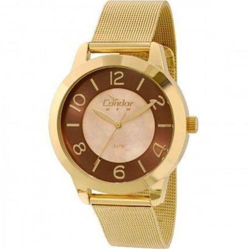 Relógio Condor Feminino CO2115TK/4M Dourado