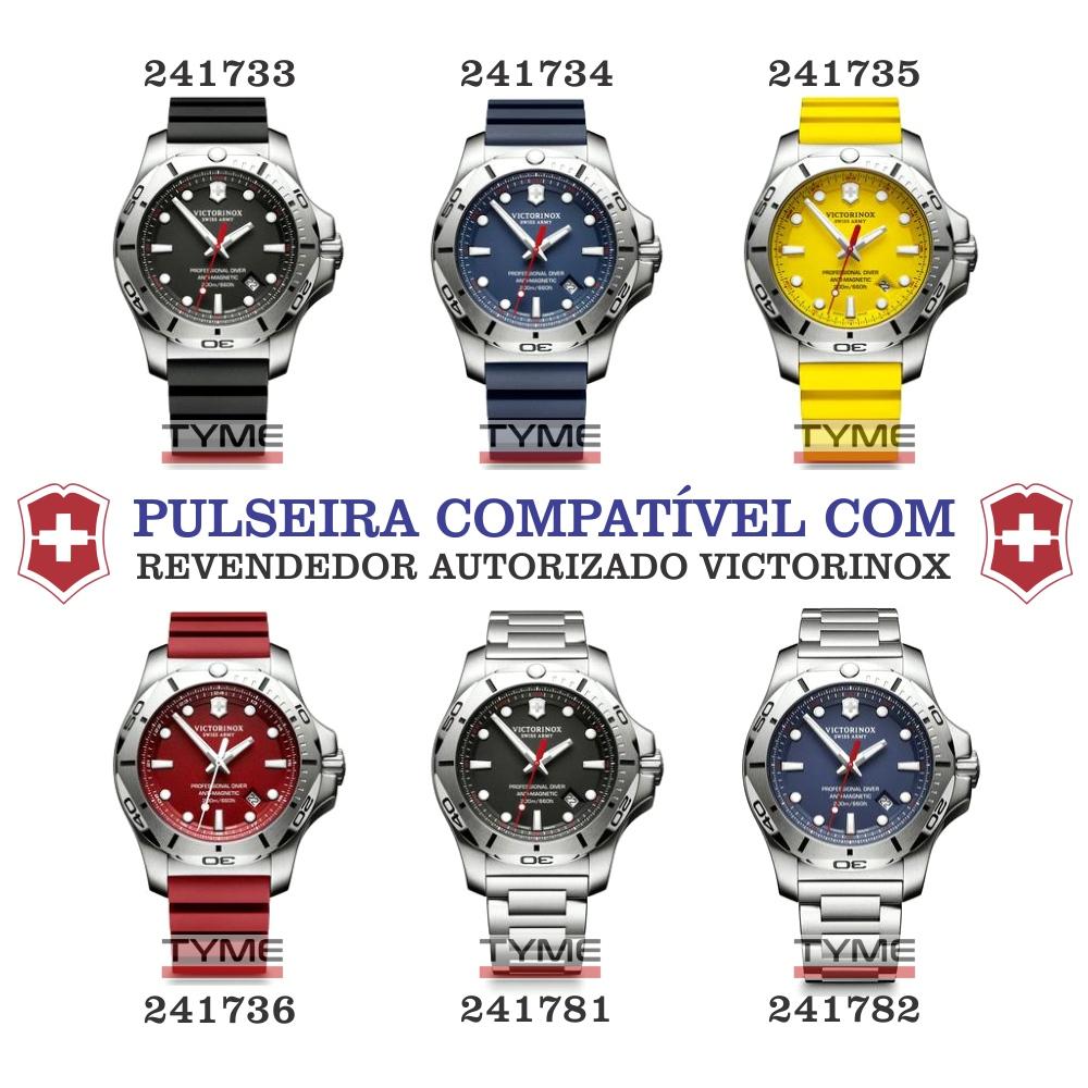 Bumper Protetor P/ Relógio De Borracha Victorinox I.N.O.X. Professional Diver 005397