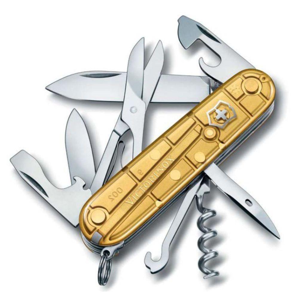 Canivete Victorinox Climber Gold Edição Limitada 2016 1.3703.T88