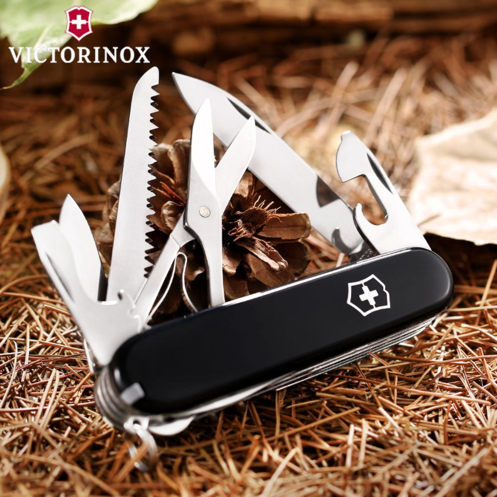 Canivete Victorinox Huntsman Preto 91mm 1.3713.3