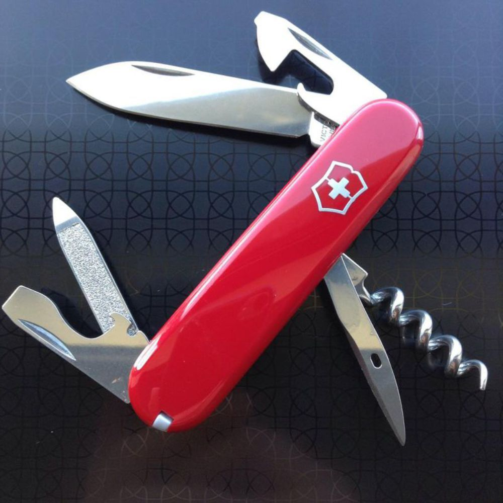 Canivete Victorinox Sportsman Vermelho 84mm 0.3803