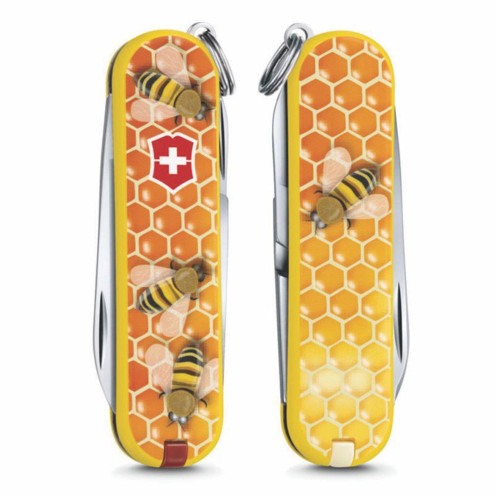 Canivete Victorinox Classic Edição Limitada 2017 Honeybee 0.6223.L1702