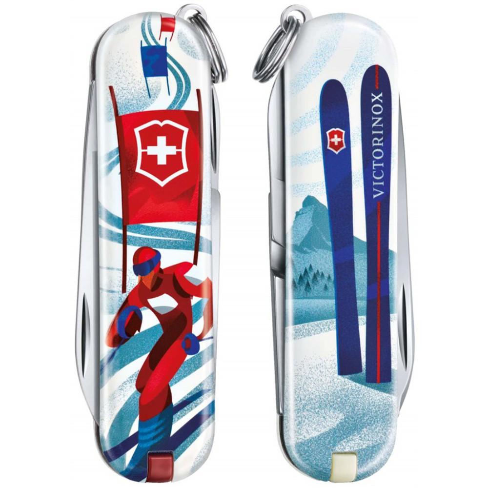 Canivete Victorinox Classic Ski Race Edição Limitada 2020 0.6223.L2008