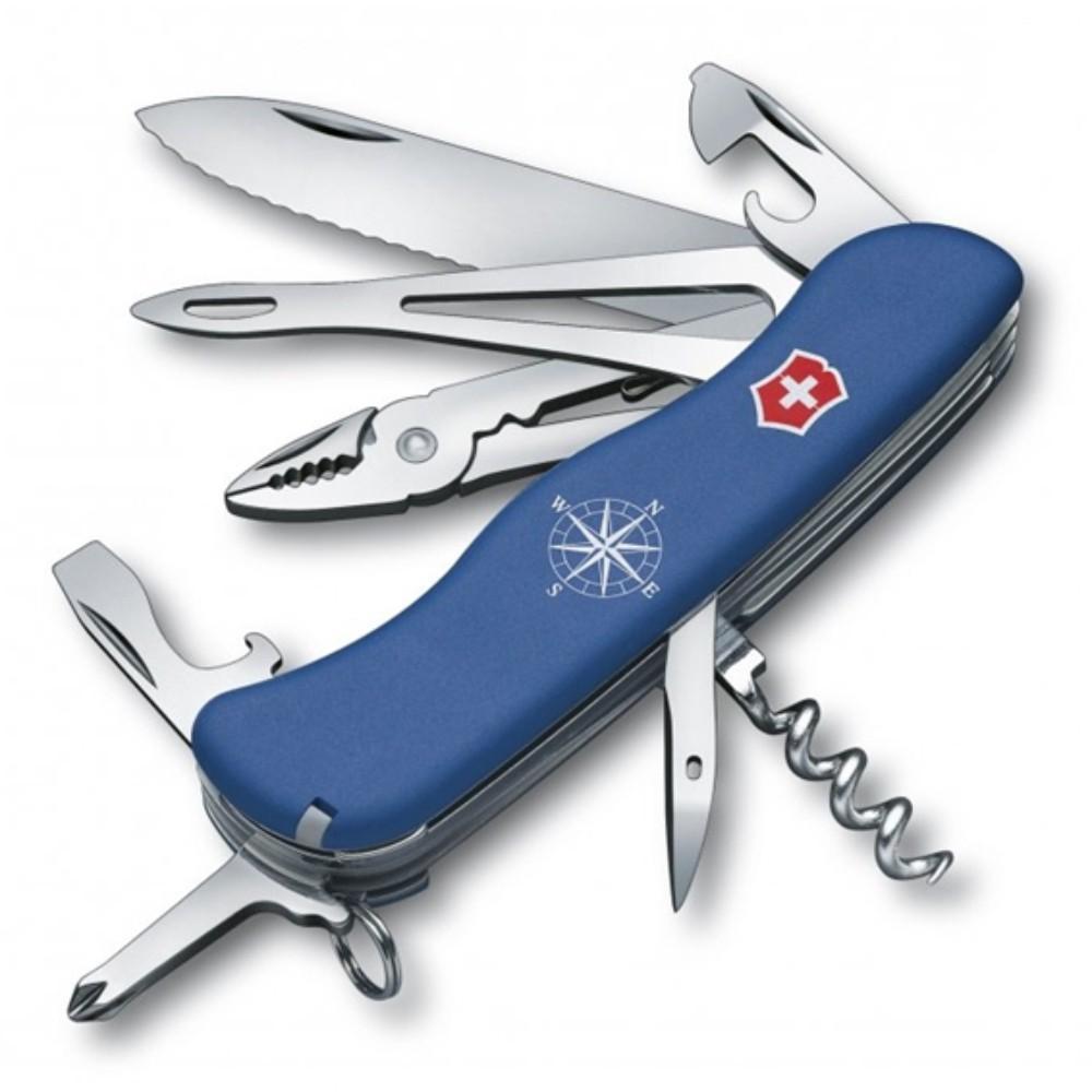 Canivete Victorinox Skipper Azul 111mm 0.9093.2W