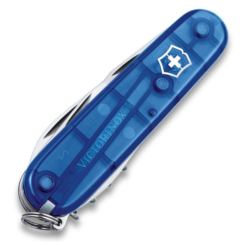 Canivete Victorinox Spartan Azul Translúcido 91mm 1.3603.T2