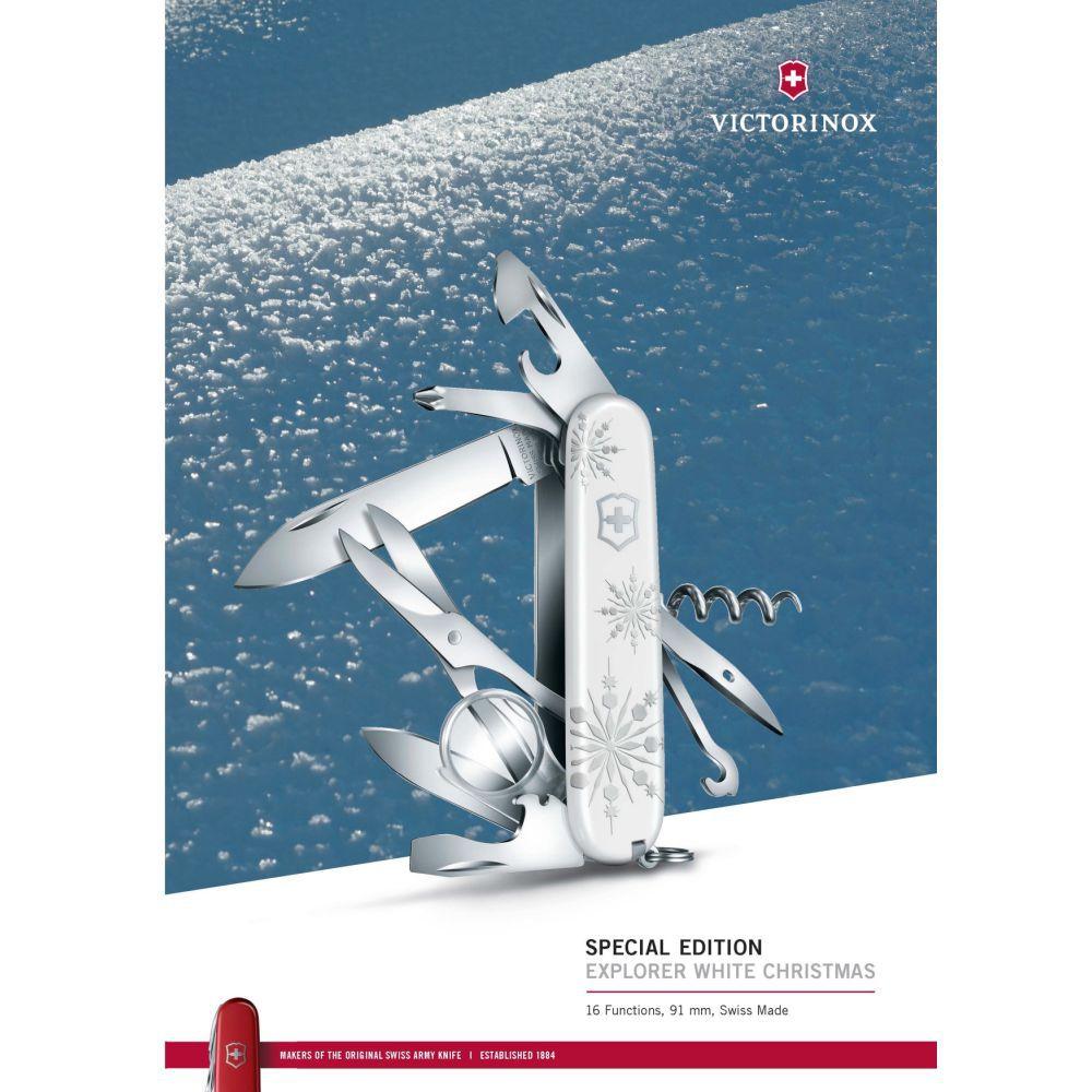 Canivete Victorinox Explorer White Christmas Edição Limitada 2017 1.6703.77