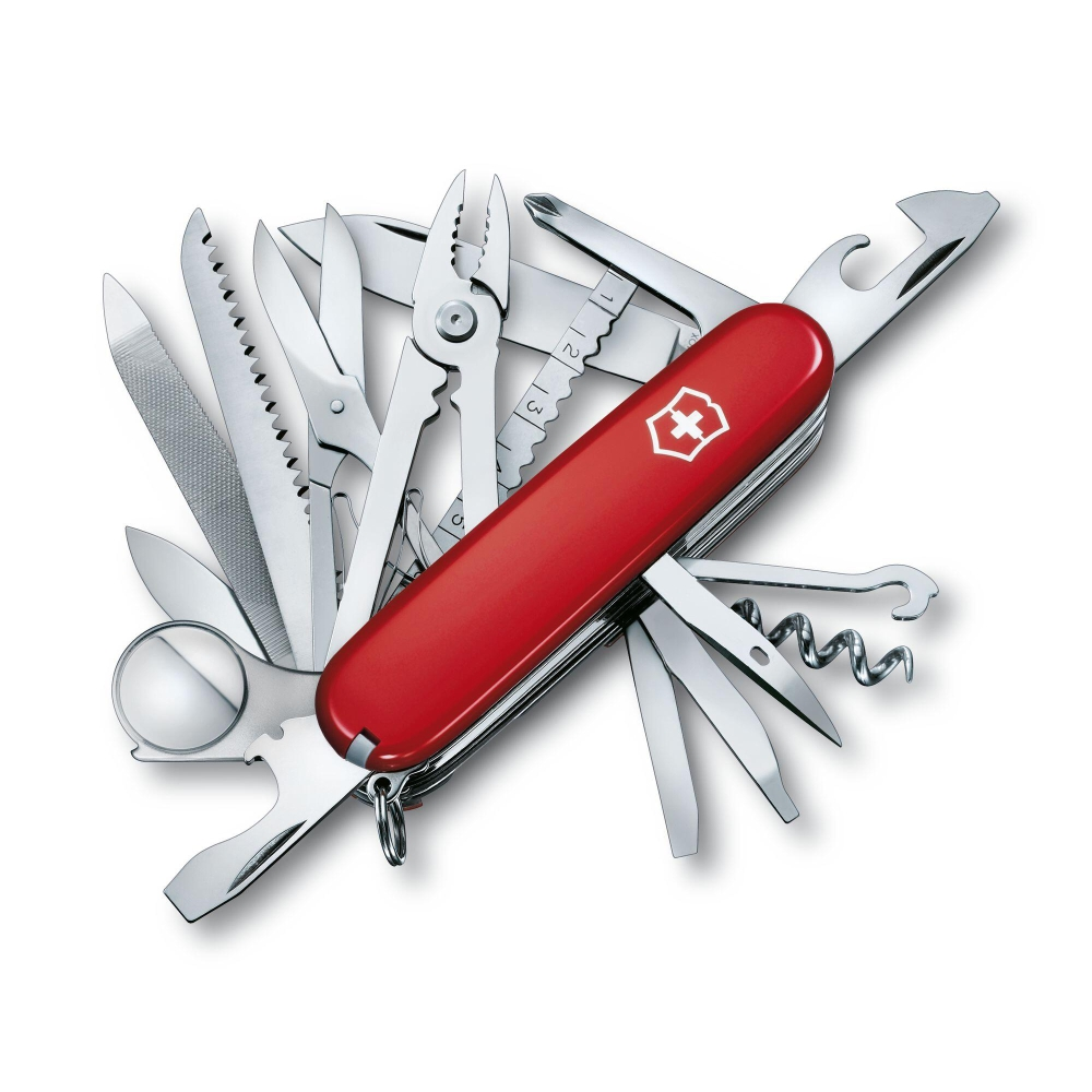 Canivete Victorinox SwissChamp Vermelho 33 Funções  91mm 1.6795