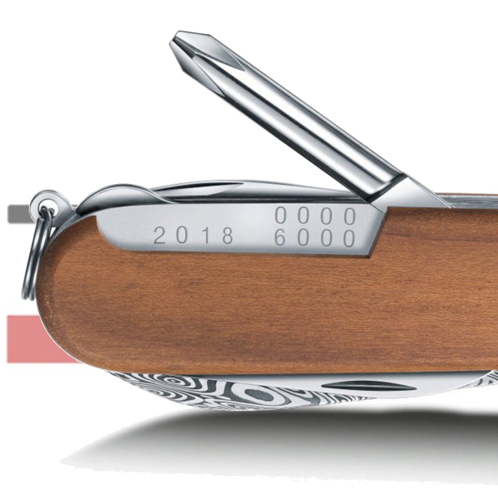 Canivete Victorinox Tinker Deluxe Damasco Edição Limitada 2018 91mm 1.4721.J18