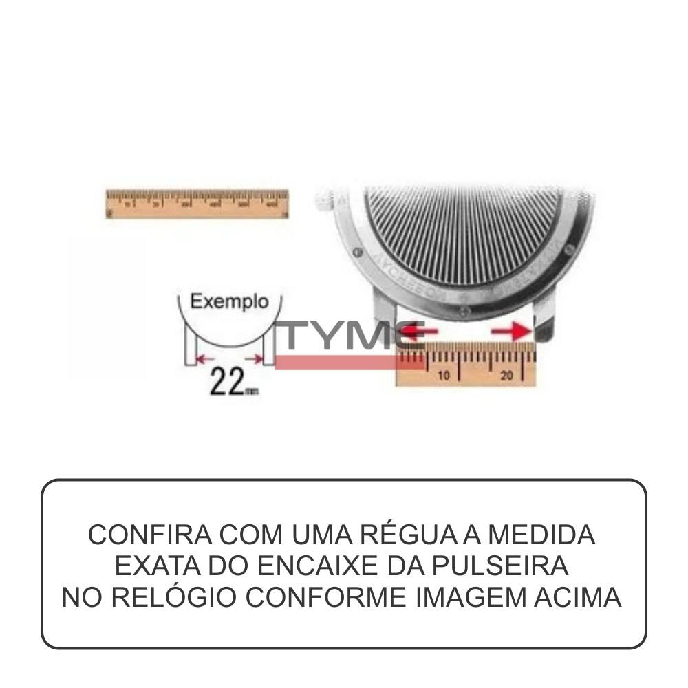Kit c/ 4 Pinos de Aço para Pulseira de Relógio 22 MM