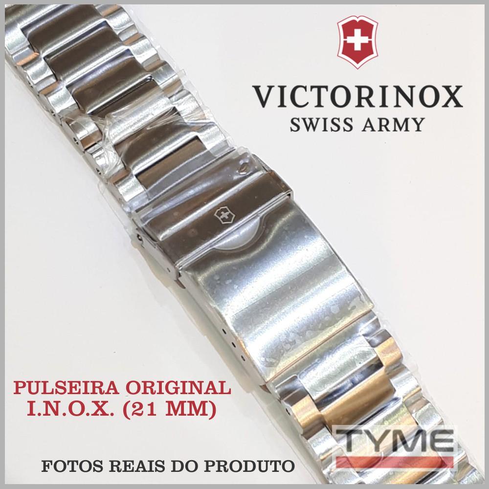 Pulseira de Aço Victorinox I.N.O.X. 21mm 005261