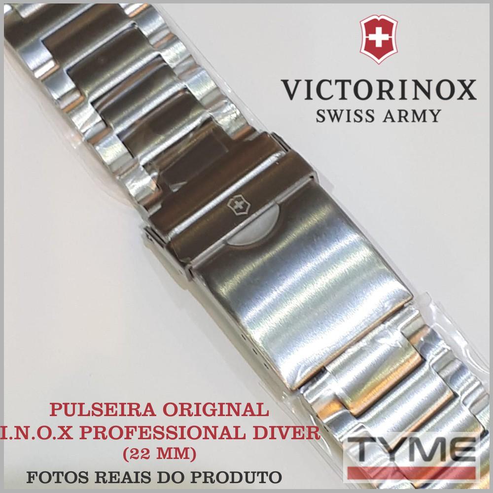 Pulseira de Aço Victorinox I.N.O.X. Professional Diver 22mm 005528