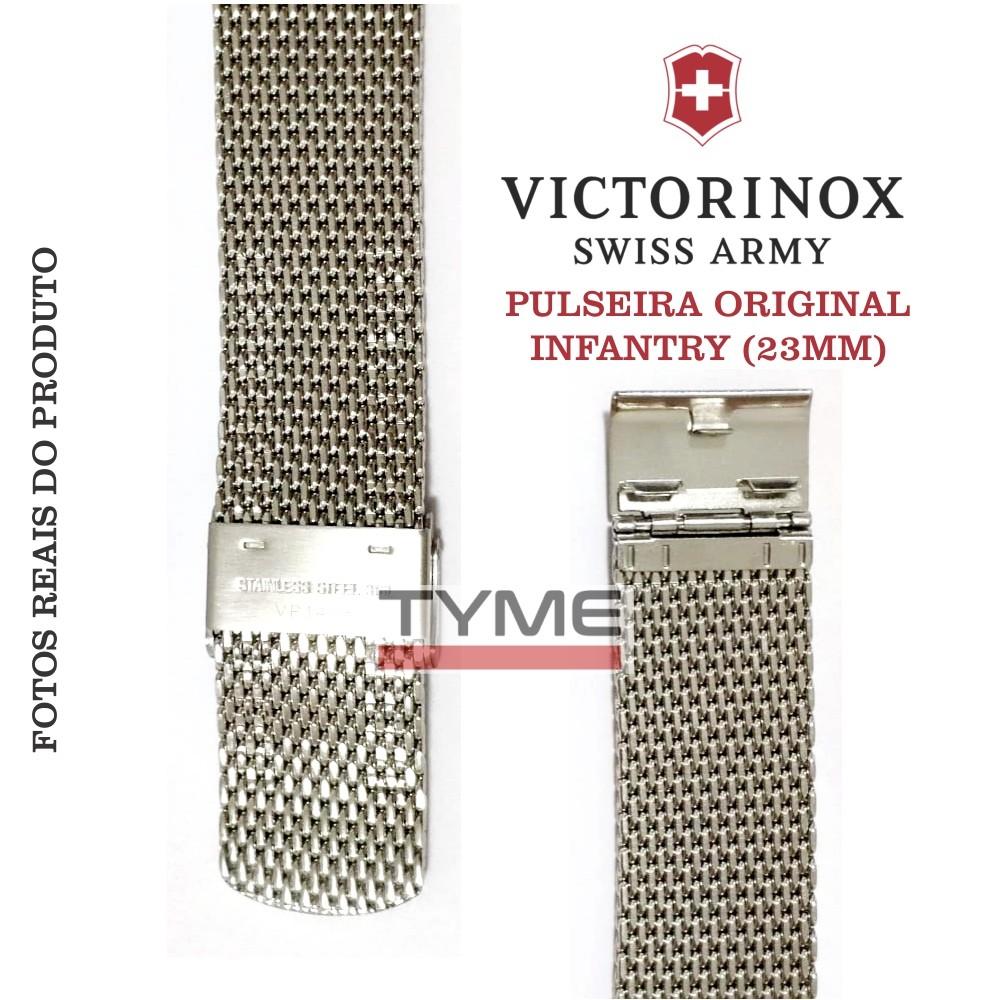 Pulseira de Aço Victorinox Infantry 23mm 004729