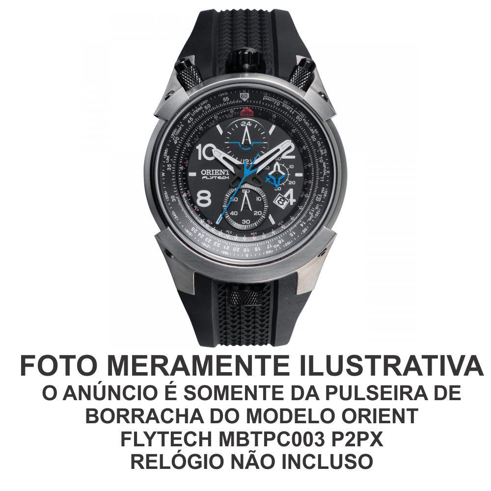 Pulseira de Borracha para Relógio Orient Flytech MBTPC003