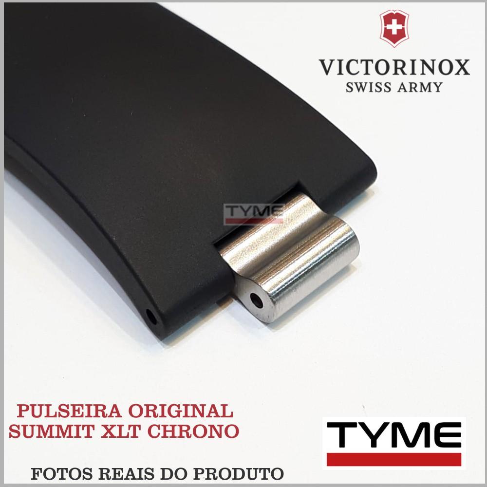 Pulseira de Borracha Victorinox Summit XLT Chrono 004416