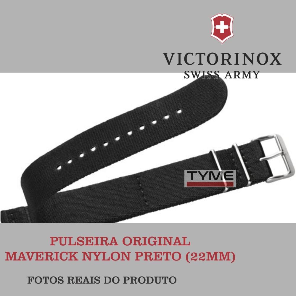 Pulseira de Nylon Preto Victorinox Maverick 005046