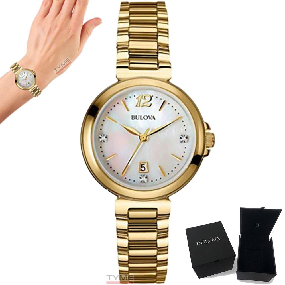 Relógio Bulova Feminino Diamond WB27930H / 97P110