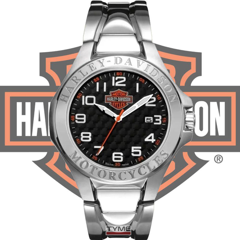 Relógio Bulova Harley Davidson Masculino WH30180T / 76B148