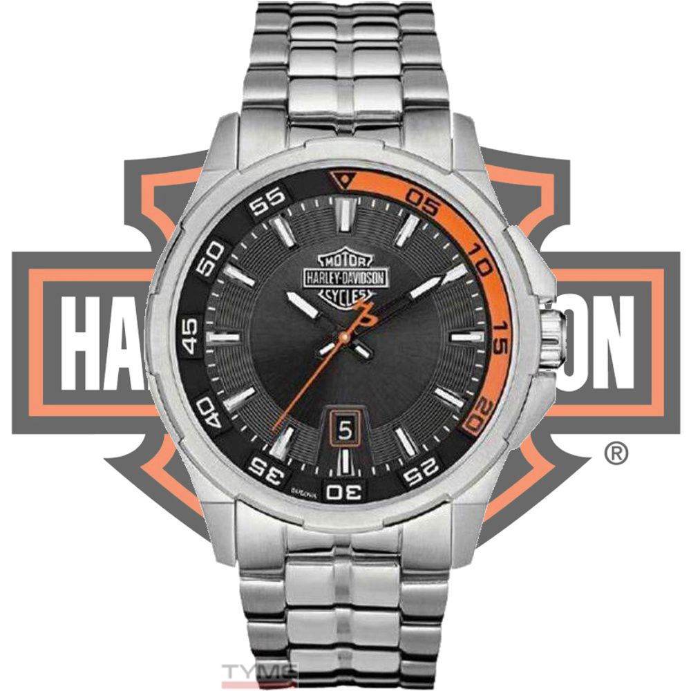 Relógio Bulova Harley Davidson Masculino WH30500T / 76B170